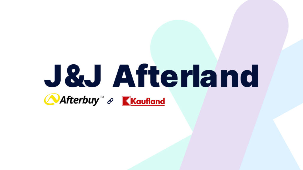 Unsere J&J Afterland Schnittstelle zwischen Afterbuy & Kaufland
